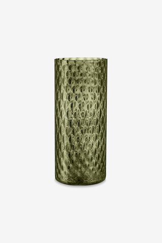 Vega Glass Vase, Umbra Green, 35cm, interior, H. Skjalm P. - Six and Sons