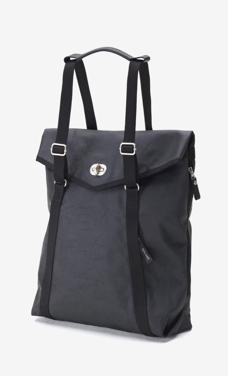 Tote organic jet black, Bags, QWSTION - Six and Sons