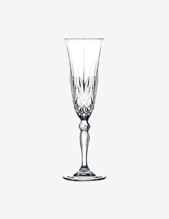 Melodia Champagne Glass, Tableware, Thing for Drinks - Six and Sons