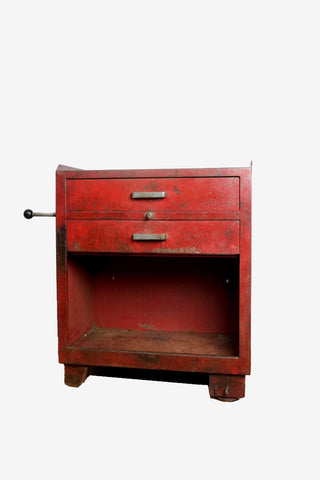 Red Tool Cabinet, Vintage, Vintage Finds - Six and Sons