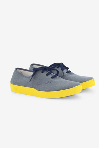 Oxford Grey / Yellow, Shoes Men, Oli13 - Six and Sons