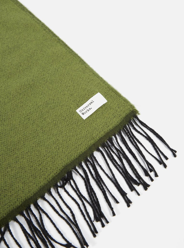 Green Double Sided Scarf