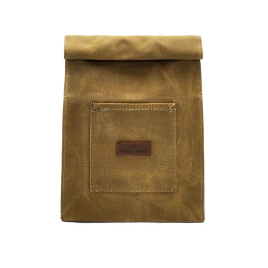 Canvas Leather Washbag