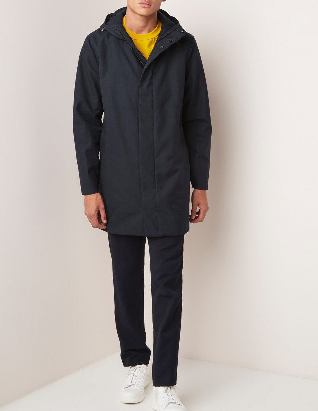 Terror Weather Spoiler Navy Hooded Parka