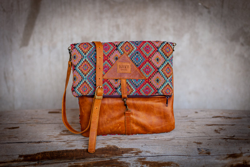 Sling Bag 'Xhosa' Diesel Toffee Leather