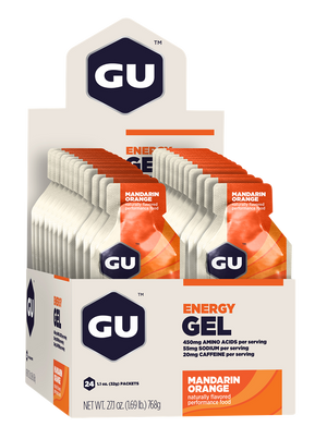 GU Energy Gel - Box of 24 (Expired) - GU Energy New Zealand