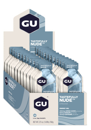 GU Energy Gel - Tastefully Nude (Box of 24) (Best By)