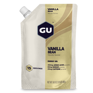 GU Energy Gel Vanilla Bean - 15 Serve Packs (Best By)