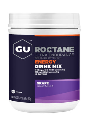 GU Roctane Energy Drink (Canister 12 Serving) - GU Energy New Zealand