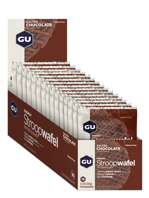GU Energy Stroopwafel - Box of 16 (Best By)