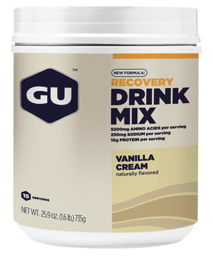 GU RECOVERY DRINK MIX - 15 Serve Canister