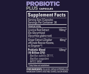Roctane Probiotic Plus Capsules (60 Srv Can)