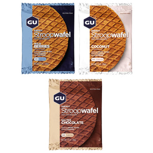 GU Energy Stroopwafel (Box of 16) Gluten Free - GU Energy New Zealand