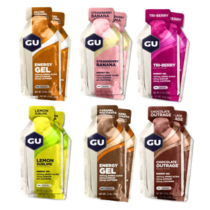 GU Energy Gels Mixed 12 Box - GU Energy New Zealand