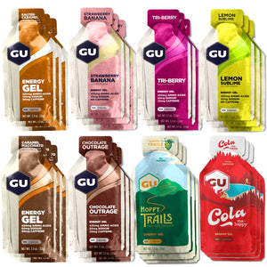 GU Energy Gels Mixed 24 Box - GU Energy New Zealand