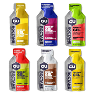 Roctane Gel Mixed 6 Box - GU Energy New Zealand
