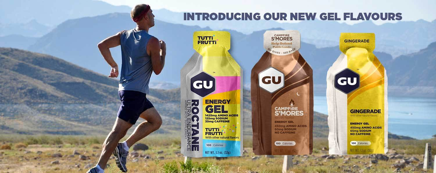 Get tropical with these new GU Energy flavours