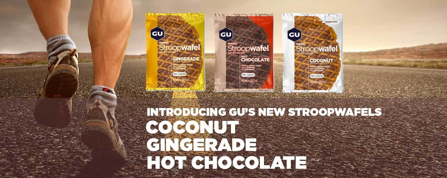 Buy caffeinated GU Energy gels