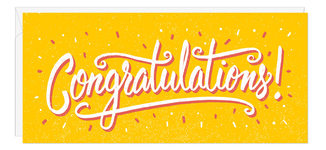 Image result for yellow congratulations