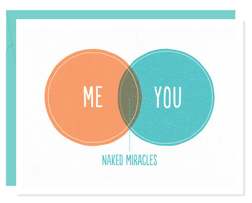 Venn Diagram Greeting Card