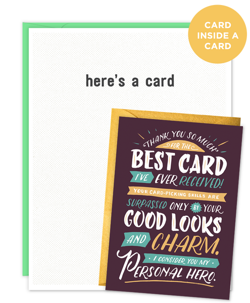 Narcissist Card