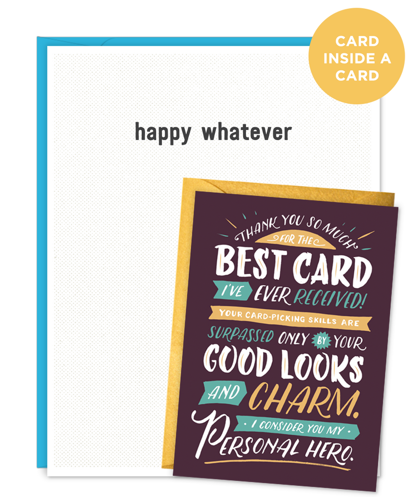 Narcissist Card Whatever