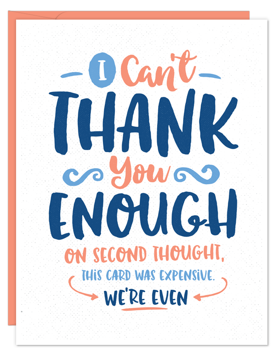 Thank Enough