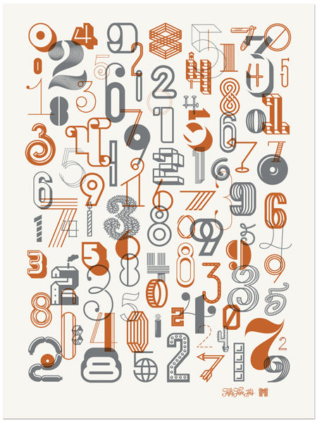 Numbers 2 Poster