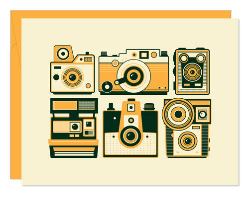 Retro Camera Notecards