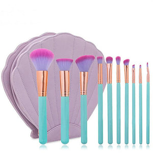 Ultra-Chic Mermaid Brush Set