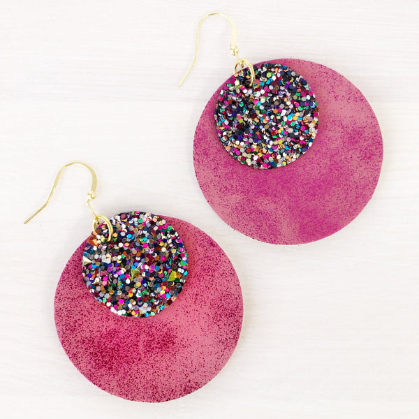 Uptown Layered Circle Earrings