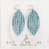 Icicle Layered Petal Earrings