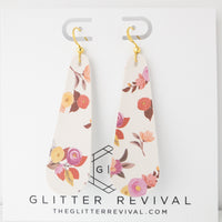 Harvest Floral Simple Drop Earring