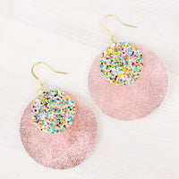 Lucky Charm Layered Circle Earrings
