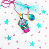 Unicorn Frappe Necklace