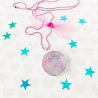 Pink Galaxy Necklace