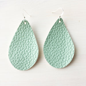 Desert Oasis Vegan Leather Earrings
