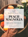 Peach Magnolia Wax Melts