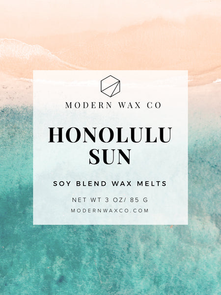 Honolulu Sun Wax Melts