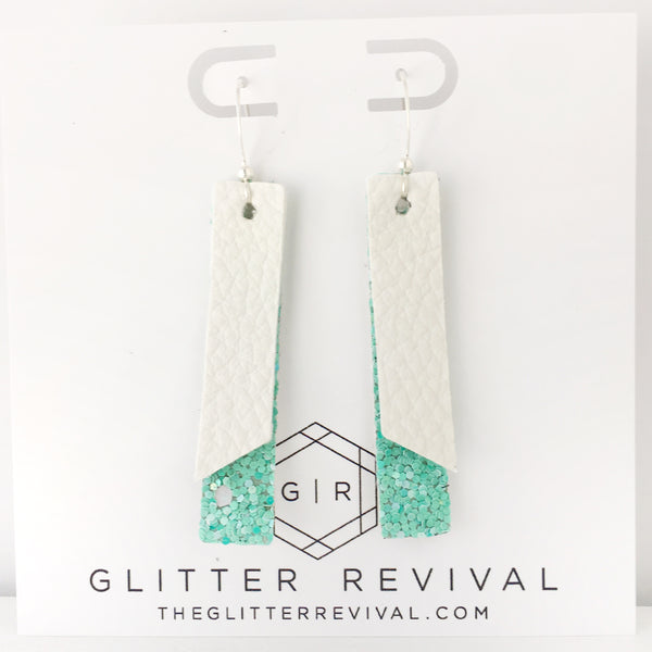 Miami Beach- Double Layer Skinny Bar Earring