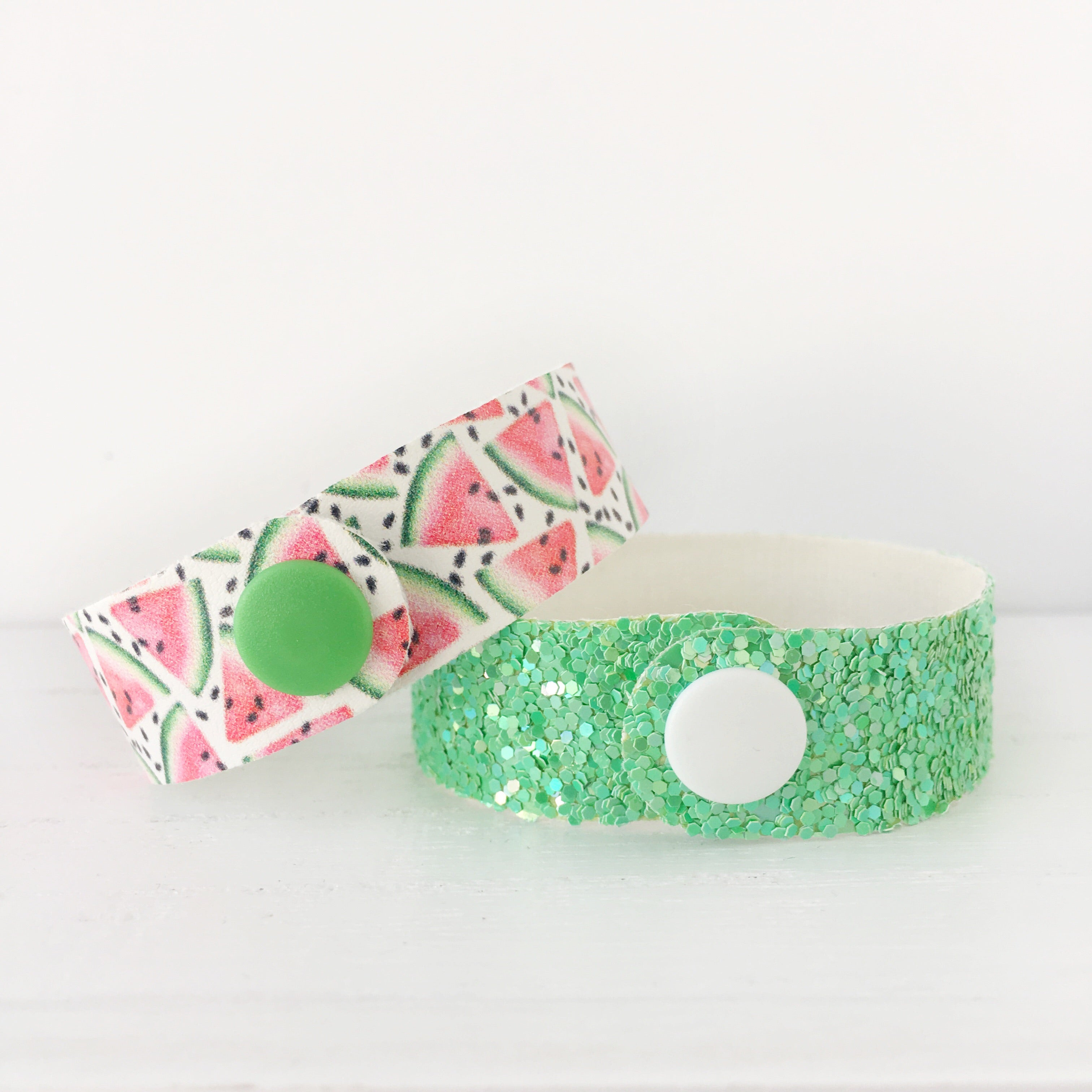Watermelon Snap Bracelet Set
