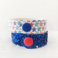 Star Spangled Snap Bracelet Set