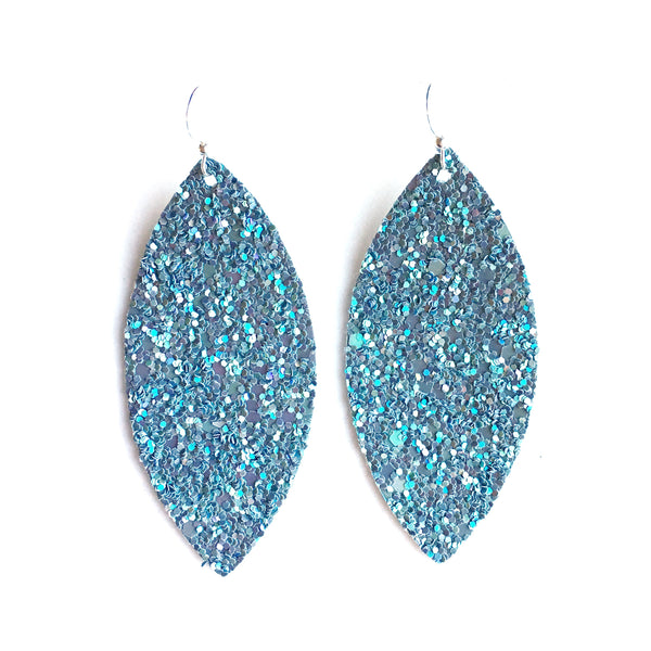Fog Shimmer Glitter Earrings