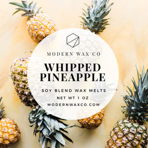 Whipped Pineapple Wax Melts