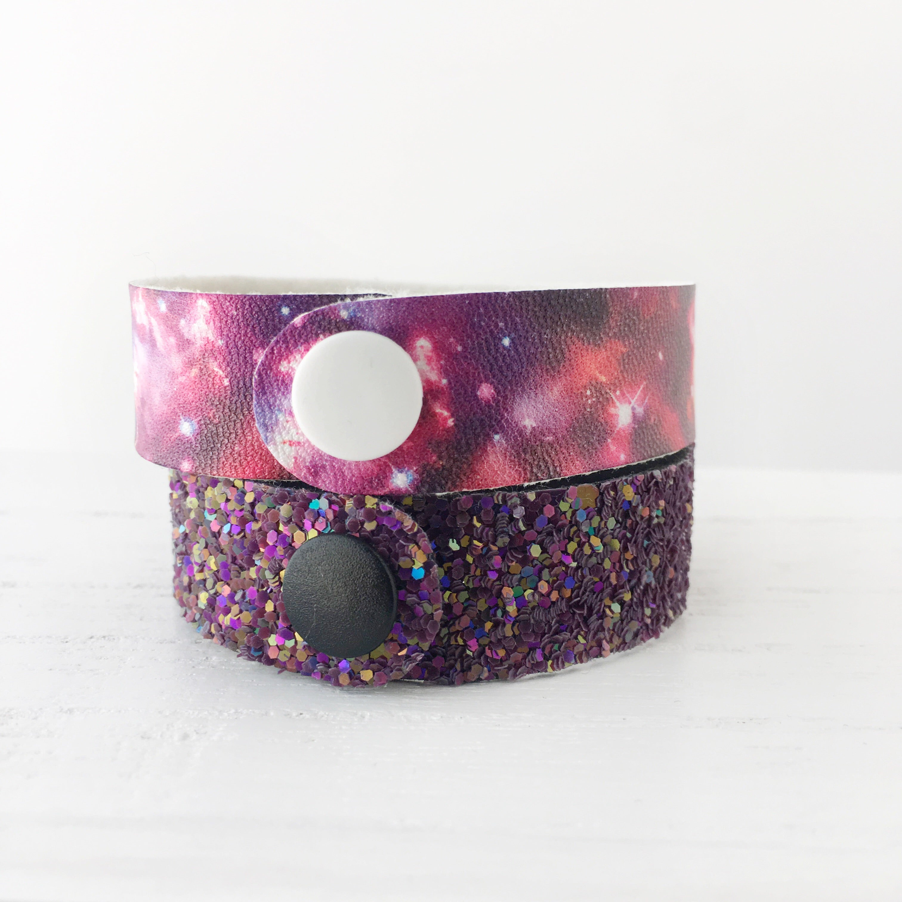 Galaxy Girl Snap Bracelet Set