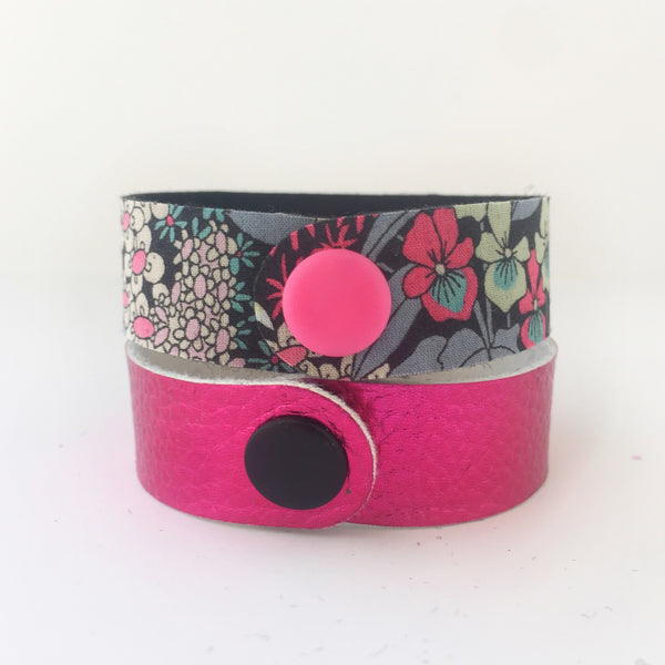 Mulberry Lane Snap Bracelet Set