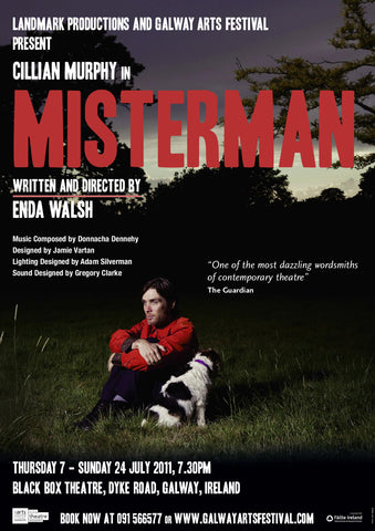 Misterman Galway Show Poster