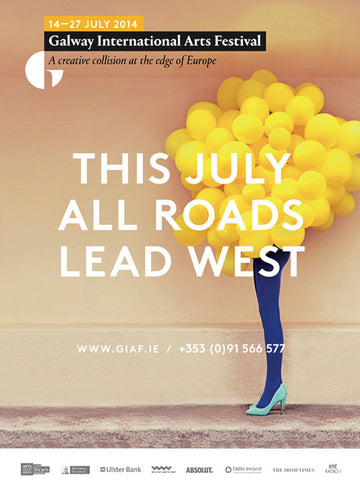 GIAF 2014 Balloon Girl Poster