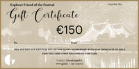 Explorer Friend Gift Certificate