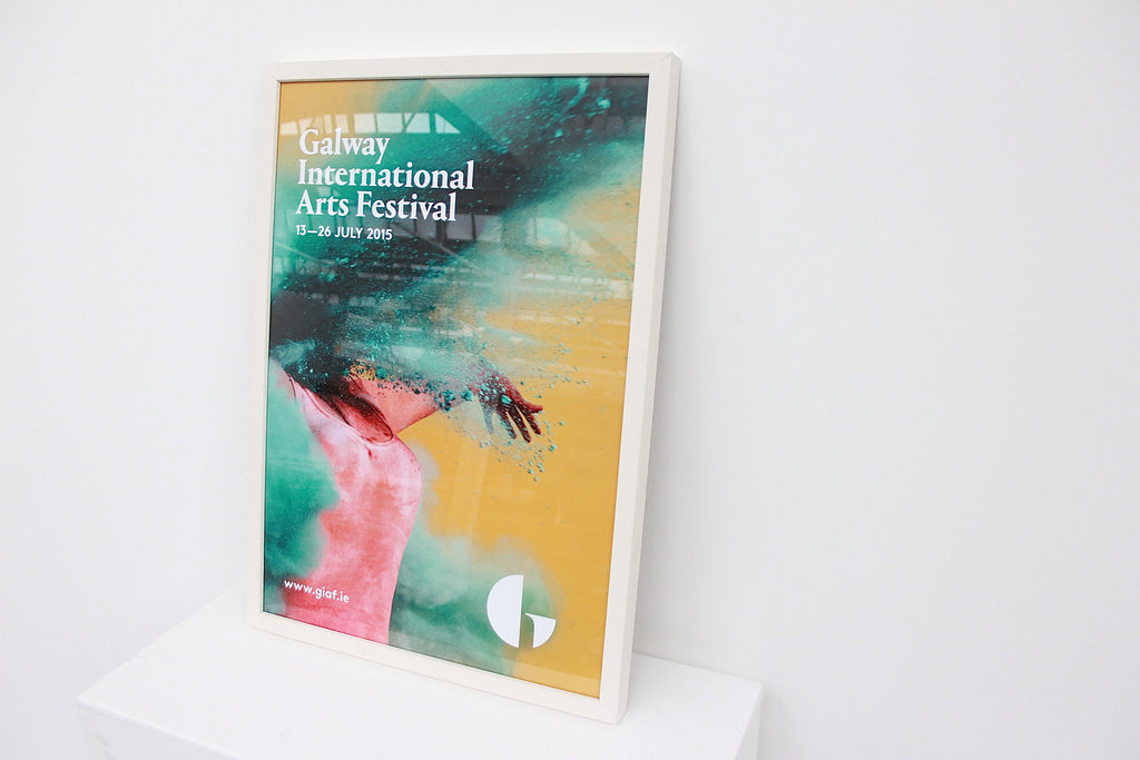 GIAF 2015 FRAMED POSTER (GREEN)